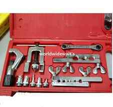 1 Set Flaring and Swaging Tool Kit for Soft Copper +Tube Cutter +Ratchet Wrench
