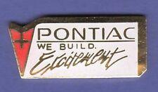 PONTIAC EXCITEMENT HAT PIN LAPEL TIE TAC ENAMEL BADGE #1124