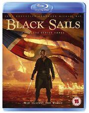 Black Sails Season 3 Blu Ray *NEW & SEALED*