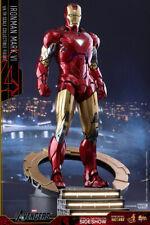 1/6 Hot Toys Iron Man VI (6) Diecast MMS378 D17 Avengers 1 Movie Sealed Box