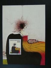 paintings Paul Wunderlich maximum card Liechtenstein 1995/137
