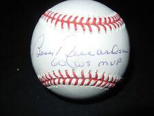 Bobby Richardson autographed baseball with COA