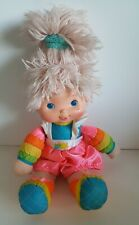 VINTAGE 1983 Rainbow Brite Tickled Pink Baby Plush Toy Doll 15""