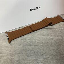 Genuine Apple Watch Leather Loop Band SADDLE BROWN 42/44mm Medium