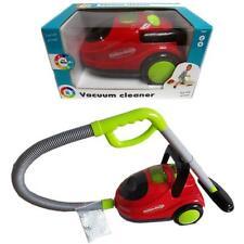 Speelgoed 4054 Kinderstaubsauger Rot Gelb Staubsauger mit Funktion Licht Sound