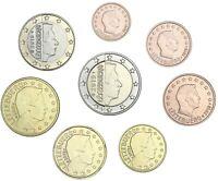 Luxemburg 1 Cent bis 2 Euro 2019 Kursmünzen bankfrisch