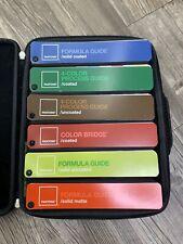 Pantone Guide Kit Case 6 Color Bridge Formula Process Coated Uncoated Matte