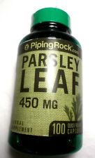 Parsley Leaf Pills 450Mg 100 Capsules