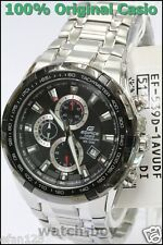 EF-539D-1A Black Casio Men's Watches Edifice Chronograph Analog Stainless Steel