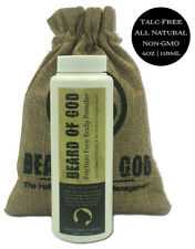 BAY RUM - Talc & Friction Free Dusting Body Powder, Non-GMO & Nano - 4oz