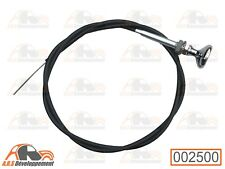 Cable starter embout chromé pour Citroen dyane mehari - 002500 -
