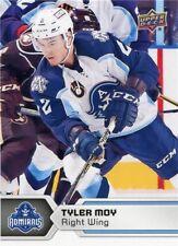 17/18 UPPER DECK AHL #54 TYLER MOY MILWAUKEE ADMIRALS *47802