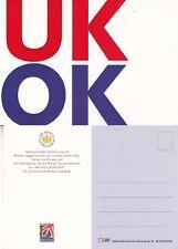 2002 QUEENS GOLDEN JUBILEE ADVERTISING UNUSED COLOUR POSTCARD