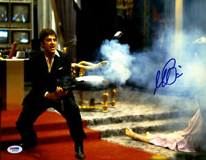 Al Pacino Signed  11x14 Scarface Photo Tony Montana Little Friend PSA DNA ITP