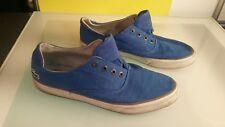 Lacoste Imatra ESS Men's shoes size 10 Blue canvas good shape