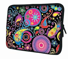 "LUXBURG 15"" Inch Design Laptop Notebook Sleeve Soft Case Bag Cover #CM"