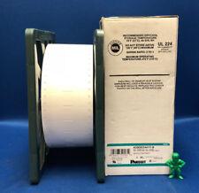 "Panduit H200X034H1T-B Mil Grade 1-Sided Heat Shrink Labels 2""x.19"" Roll of 2,500"