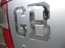 1 Gb Chrome Dome Auto Adhesivo Retro Estilo 103mm X 77