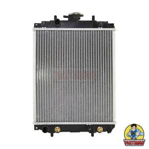 Radiator Daihatsu Sirion M100 M101 4/98-12/01 With 25mm Hose Outlets Manual & Au