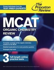 MCAT Organic Chemistry Review: New for MCAT 2015 (Graduate School Test