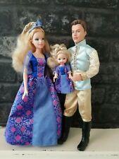 Mattel Sleeping Beauty Barbie Ken Kelly Set Exclusive Disney 2007 Fairytale