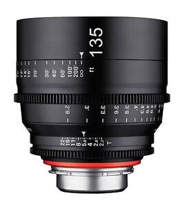 XEEN 135mm T2.2 Telephoto Pro Cinema Lens (Micro 4/3)