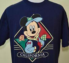 Mickey Mouse t-shirt California blue XL Disney Disneyland