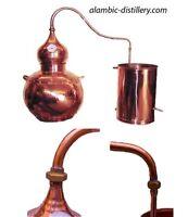 Destille aus Kupfer  mit Thermometer 30L
