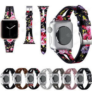Leather Wrist Strap For Apple Watch Band iWatch Series 6 5 4 3 SE 38/42/40/44mm