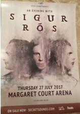 Sigur Rós An Evening With Melbourne Tour Poster July 2017