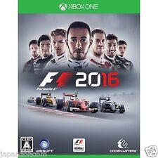 F1 2016 MICROSOFT XBOX ONE   JAPANESE NEW JAPANZON