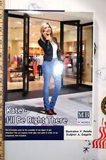 Dangerous Curves Kate: Ill be right there 1/24 Highly detailed Plastic model kit