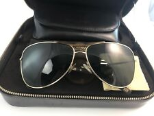 Giorgio Armani Sunglasses Limited Gold 22 Kt  Horn Edition