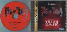 "SEGA SATURN SS""THE HOUSE OF THE DEAD SAMPLE TRIAL DISC""PROMO NOT FOR SALE JAPAN"
