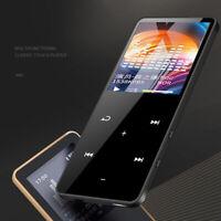 Nero Hi-Fi Bluetooth MP3 MP4 16GB Touch Video Musicale FM Radio Registratore