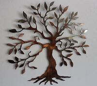 "Olive Tree --Tree of Life Metal Wall Art Decor 12"" Version"