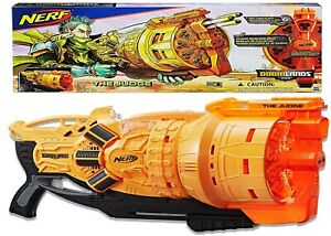 Nerf Doomlands The Judge Ages 8+ Toy Gun Blaster Fire Play Fight Darts Drum Gift