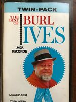 The Best of Burl Ives Cassette Tape MCA Records 1980 Country