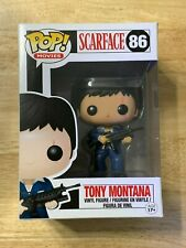 Funko Pop! Movies Scarface Tony Montana #86 Vaulted - NEW - w/ Pop Protector