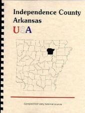 Independence County Arkansas 1889 Goodspeed history bios Batesville AR Newark RP