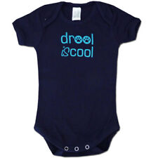 Drool IS Cool Organic Cotton Baby Romper / Bodysuit Size 00