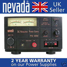 Nevada PS40M 40a linear variable voltage power supply