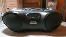 iLive Boombox Bluetooth Speaker with CD Player and FM Radio (Black) iBC233B