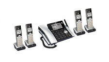 AT&T CL84215 DECT 6.0 Corded Cordless 5 Handset Phone System CALLBLOCK &ANNOUNCE