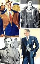 30s Vintage Fashion Furnishings Catalog_1936 SEARS_Rockabilly_Work Wear_Denim