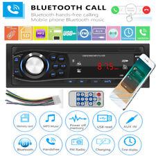 1 DIN USB Car Stereo MP3 Player Bluetooth Radio AUX TF Media Receiver Head Unit