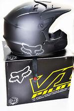 Fox Racing Helmet Matte Black Large 59-60CM