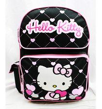 Hello Kitty Heart Medium Backpack Books & School Bag Girls Kids Sanrio