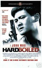 HARD BOILED movie poster lobby promo card Chow Yun Fat