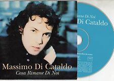 MASSIMO DI CATALDO CD single 2 tracce PROMO 97stampa FRANCESE Cosa rimane di noi